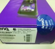 Benq A3 評價開箱文-1.2GHz 四核心 1GB (RAM) + 4GB (ROM)高CP值手機